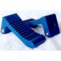 COPPIA PEDALINE IN METALLO CNC COLOR BLU