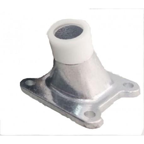 Collettore alluminio + Adattatore per carb. Sha 15/15 DELLORTO