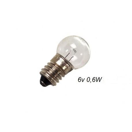 Mini lampadina per frecce e stop 6V 0,6W 20.7106 j10