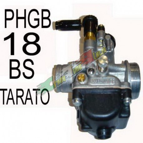 CARBURATORE DELL'ORTO 18MM TARATO PER MINIMOTO PHBG 18 BS