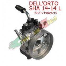 CARBURATORE DELL'ORTO SHA 14/14L TARATO