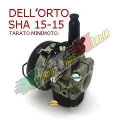 CARBURATORE DELL'ORTO SHA 15/15 TARATO PER MINIMOTO