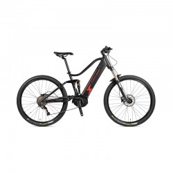 "FOCARINI ESTREMA FULL SUSPENSION 29"" E-BIKE MTB BLACK 2020"