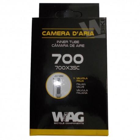 WAG - CAMERA D'ARIA 700X35C VALVOLA ITALIANA 40MM