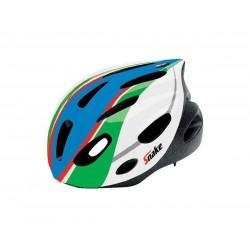 """CASCO CICLO """"SNAKE II"""" ITALIAN FLAG TAGLIA """"M"""""""