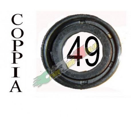 COPPIA PARAOLI PER 49CC ARIA 15*25*7