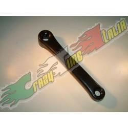 Pedivella sinistra 170mm MTB, colore nero