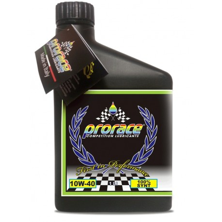 PRORACE - OLIO 4T/10W40 MOTO STREET HIGH TECH ADDITIVATO